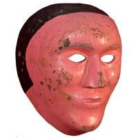 Máscara de Mujer, Carnaval, Hidalgo México