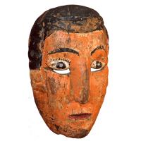 Máscara de Niña Buena, Danza del Torito, Guanajuato México