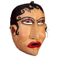 Máscara de Niña Mala, Danza del Torito, Guanajuato México
