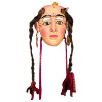 Máscara de Malinche, Los Tlacololeros, Guerrero México