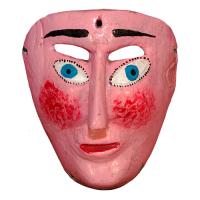Máscara de Malinche, Danza del Pescado, Guerrero México