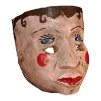 Máscara de Vieja, Danza de los Huehues, Guerrero México