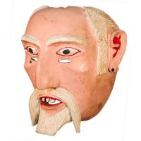 Máscara de Viejo, Fiestas Patronales,, Guanajuato México