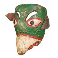 Máscara de Perico, Carnaval, Puebla México