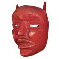 Máscara de Diablo Tejorón, Los Tejorónes, Oaxaca México