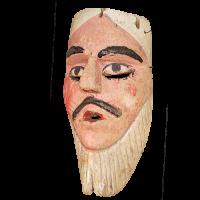 Máscara de Ermitaño, Pastorelas, Michoacán México