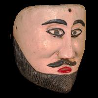 Máscara de Moro, Moros y Cristianos, Veracruz México