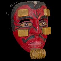 Máscara de Moro Chino, Moros y Cristianos, Guerrero México
