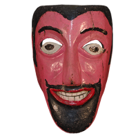 Máscara de Moro, Carnaval/Moros y Cristianos, Veracruz México