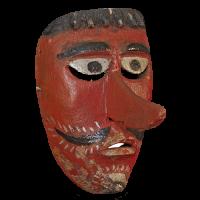 Máscara de Santiaguero, Santiagueros, Veracruz México