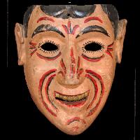 Máscara de Payaso, Carnaval, Hidalgo México