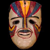Máscara de Comanche, Xantolo Todos Santos(día de muertos), Hidalgo México