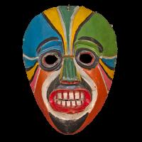 Máscara de Comanche, Xantolo-Todos Santos(día de muertos), Hidalgo México
