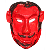 Máscara de Xantolo, Todos Santos (Día de Muertos), Hidalgo México