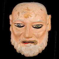 Máscara de Viejo, Danza del Torito, Guanajuato México