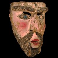 Máscara de Moro, Moros y Cristianos, Estado de México Mexíco