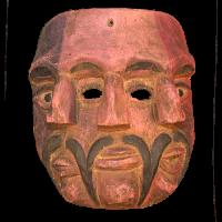 Máscara de Matachín, Los Matachínes, Hidalgo México
