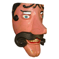 Máscara de Moro, Carnaval, Veracruz México