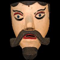Máscara de Viejo Charro, Carnaval, Hidalgo México