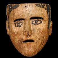 Máscara de Huehuetón/Tejonero, Los Huehuetones/Tejoneros, Puebla México
