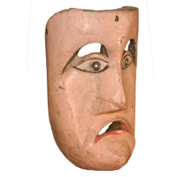Máscara de Bartolo, Los Bartolos, Michoacán México