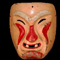 Máscara de Payaso, Los Matachines, Puebla México