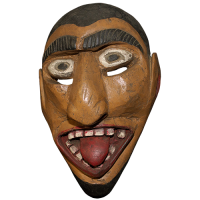 Máscara de Fariseo, Semana Santa, San Luis Potosí México