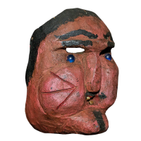 Máscara de Hombre, Carnaval, Hidalgo México
