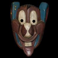 Máscara de Ratón/Fariseo, Semana Santa, San Luis Potosí México