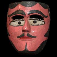 Máscara de Tejorón, Los Tejorónes, Oaxaca México
