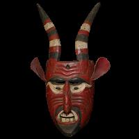 Máscara de Diablo, Tres Potencias, Guerrero México