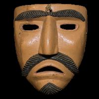 Máscara de Judas, Semana Santa, Michoacán México