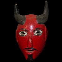 Máscara de Diablo, Carnaval, Hidalgo México