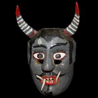 Máscara de Diablo, Danza del Torito, Guanajuato México