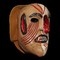 Máscara de Fariseo Dual, Semana Santa, San Luis Potosí México