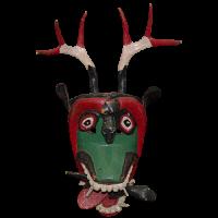 Máscara de Diablo, Pastorela, Guanajuato México