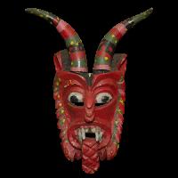 Máscara de Diablo, Pastorela, Michoacán México