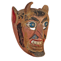 Máscara de Diablo, Los Tlacololeros, Guerrero México