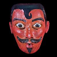 Máscara de Bartolo, Pastorela, Michoacán México