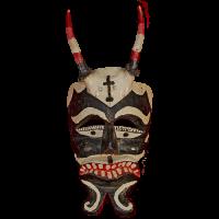 Máscara de Diablo, Tejoneros, Hidalgo México