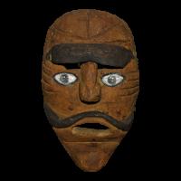 Máscara del Viejo Gorrón, Carnaval, Michoacán México