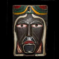 Máscara de Apache, Carnaval, Hidalgo México