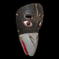Máscara de Cuervo, Los Manueles, Veracruz México
