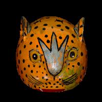 Máscara de Tigre, Danza del Calalá, Oaxaca México