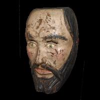 Máscara de T'arepiti, Kúrpites (Cúrpites), Michoacán México
