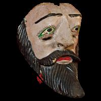 Máscara de Moro, Moros y Cristianos, Puebla México