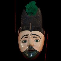 Máscara de Judas, Judea, Semana Santa, Michoacán México