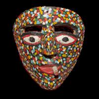 Máscara de Pescador, Danza del Pescado, Guerrero México