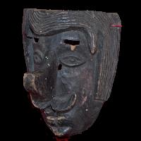 Máscara de Cuanegro/Juanegro, Los Cuanegros/Los Juanegros, Veracruz México