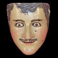 Máscara de Catrín, Los Catrines, Tlaxcala México